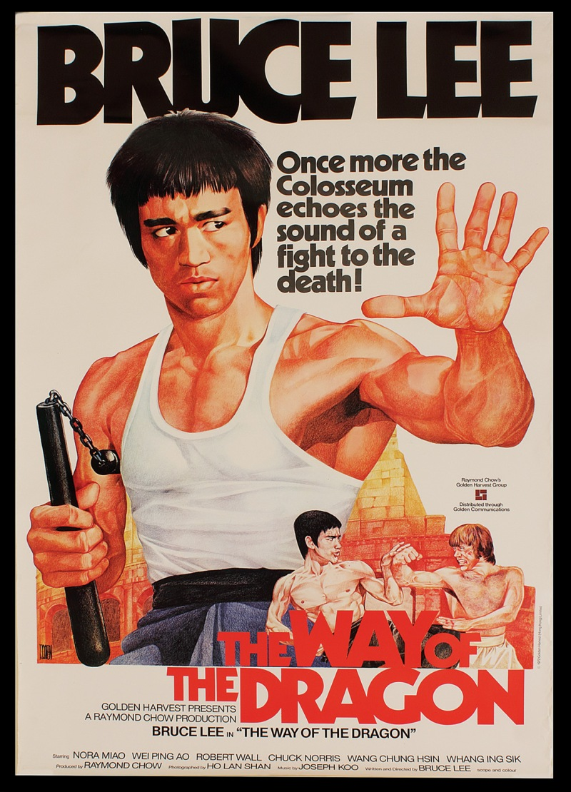 Way of the Dragon poster