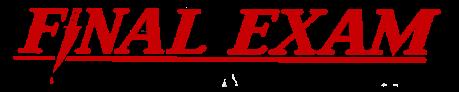 Final Exam logo