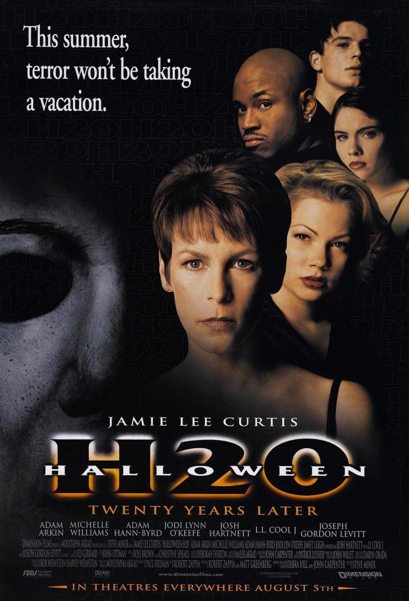 Halloween H20 poster