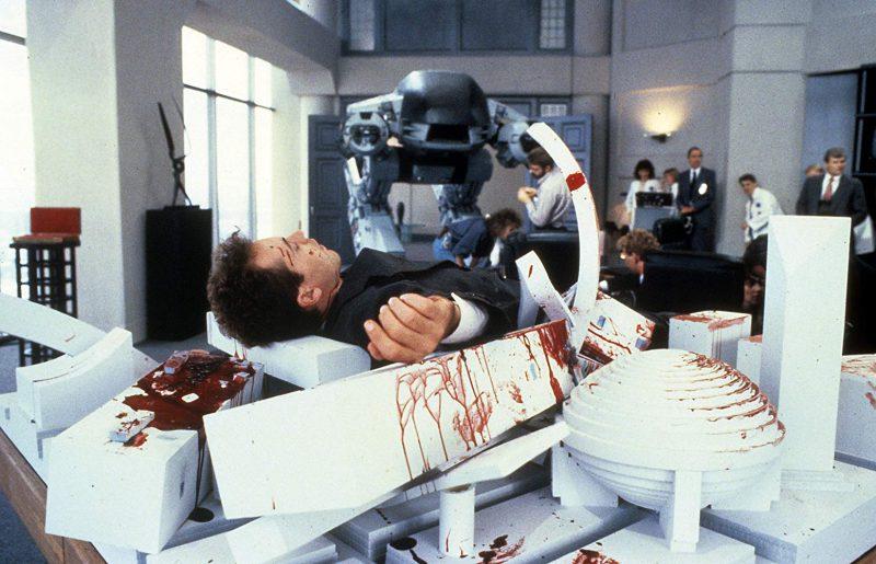 Robocop ED-209 death