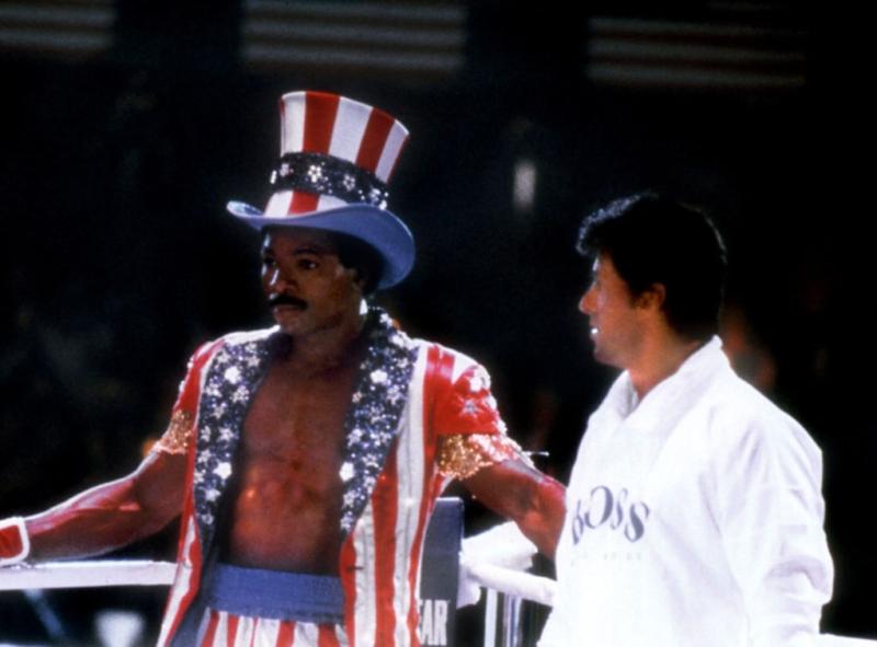 Rocky IV Rock and Apollo