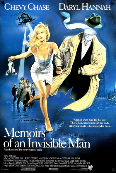 Memoirs of an Invisible Man Poster