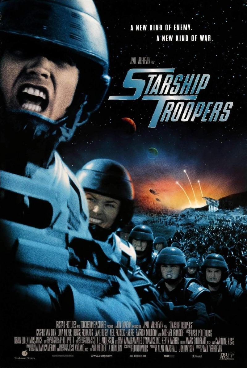 Starship Troopers poster