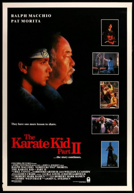 Karate Kid II poster