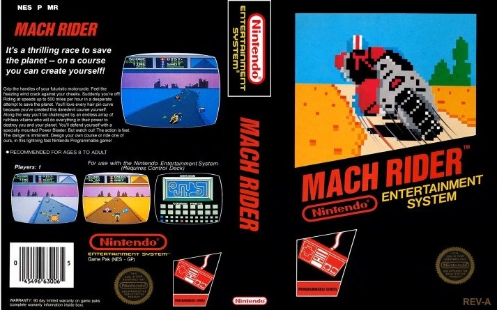 Mach Rider Black Box