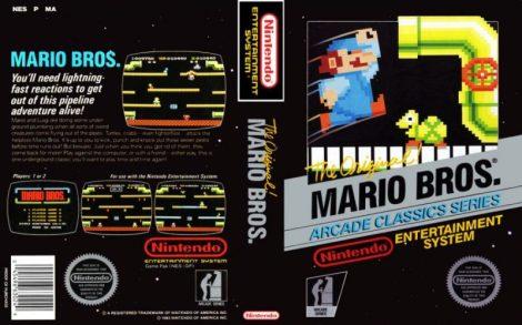 Mario Bros. Black Box