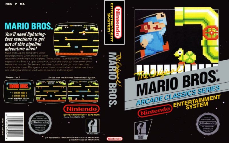 Mario Bros. Black Box