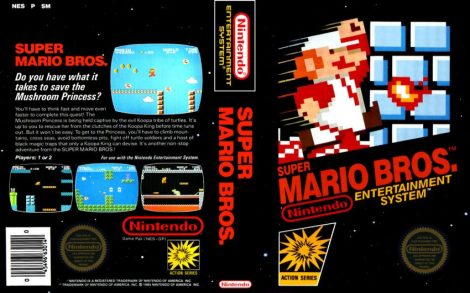 NES Black Box Mario