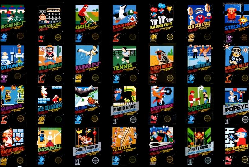 NES Box Art header