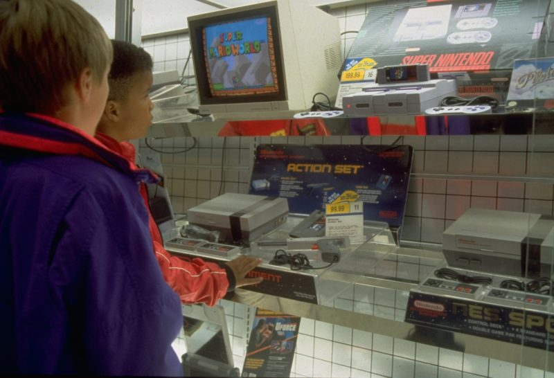 NES display