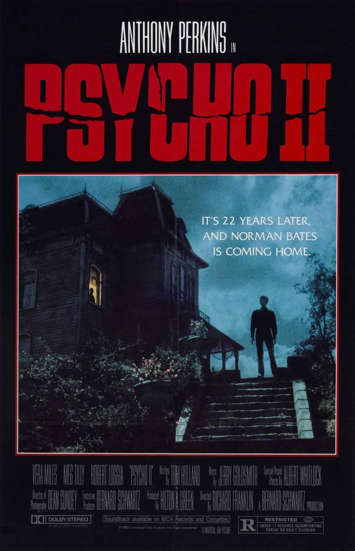 Psycho II poster