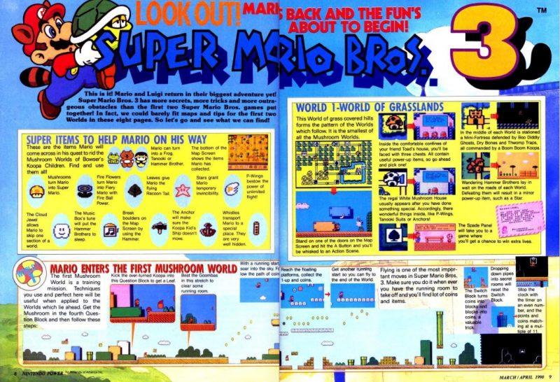 SM Nintendo Power