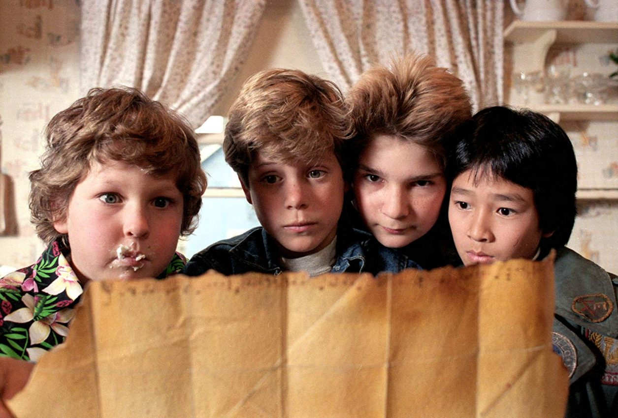 The Goonies featured