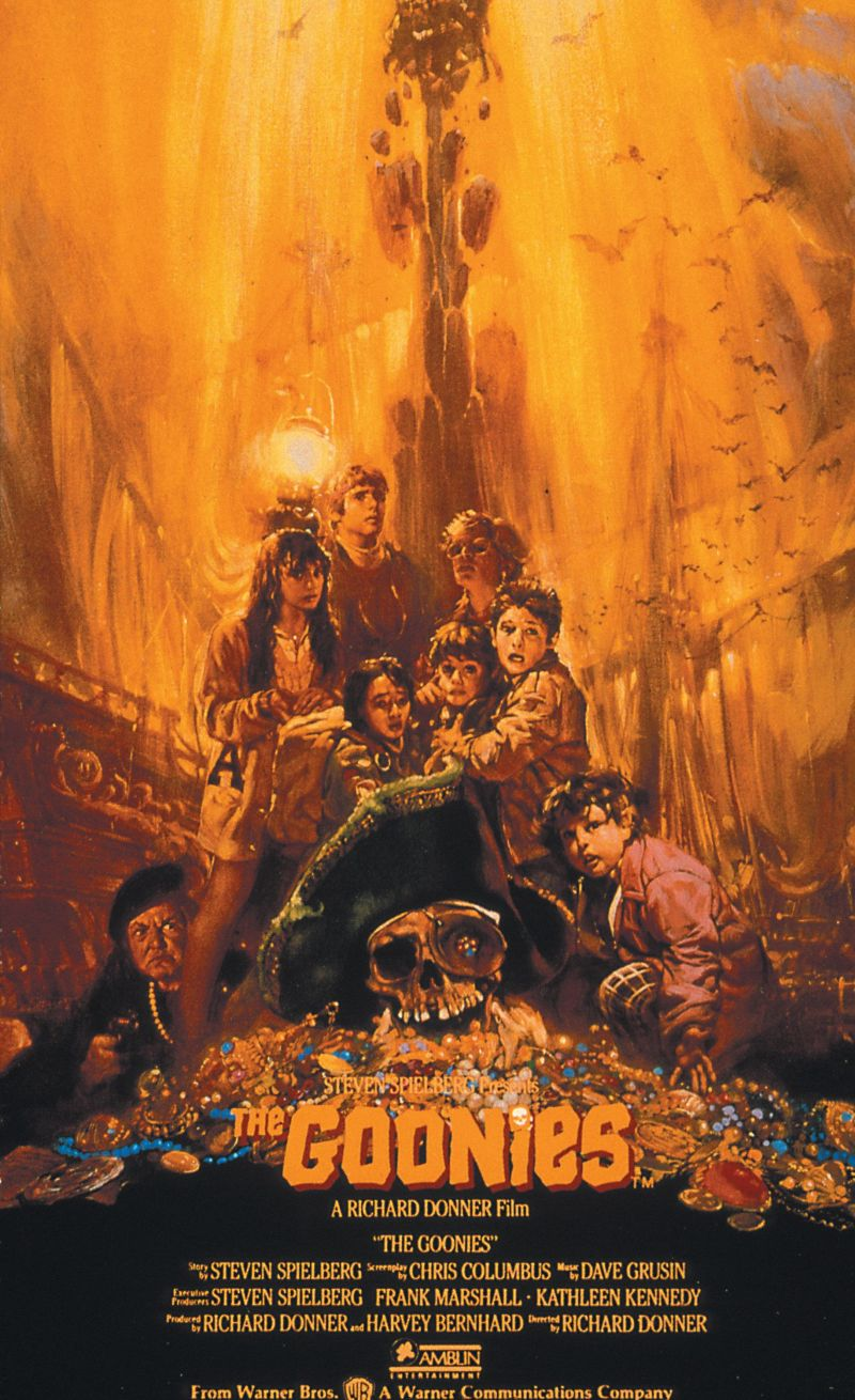 The Goonies UK poster