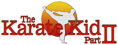 The Karate Kid Part II logo