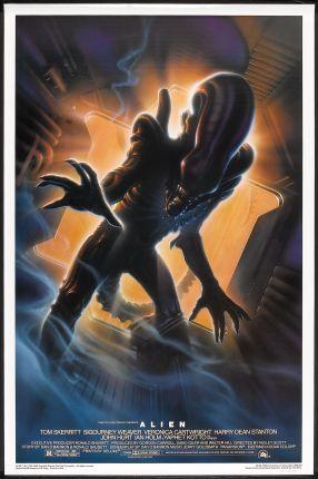 Alien poster John Alvin