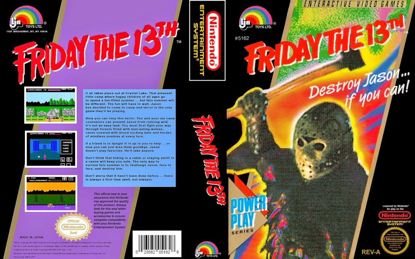 Friday the 13th NES featured