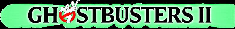 Ghostbusters II logo