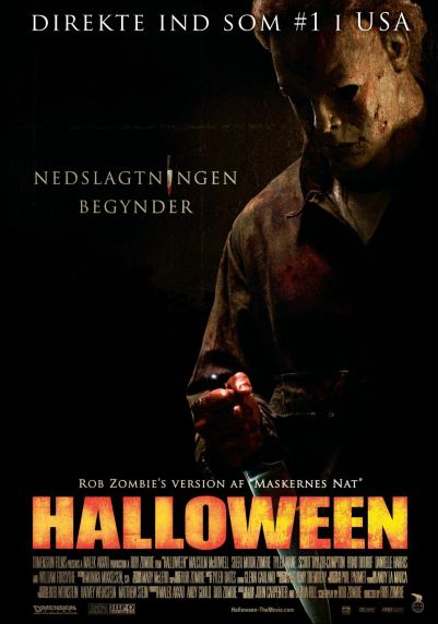 Halloween 2007 Danish poster