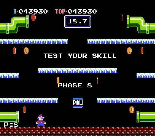Mario Bros. NES