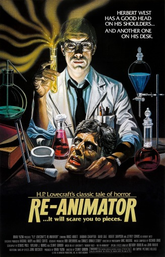 Re-animator poster