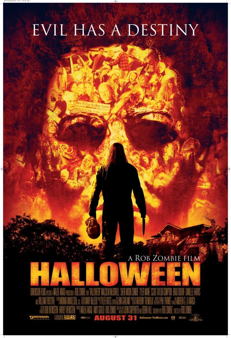 Rob Zombie's Halloween poster