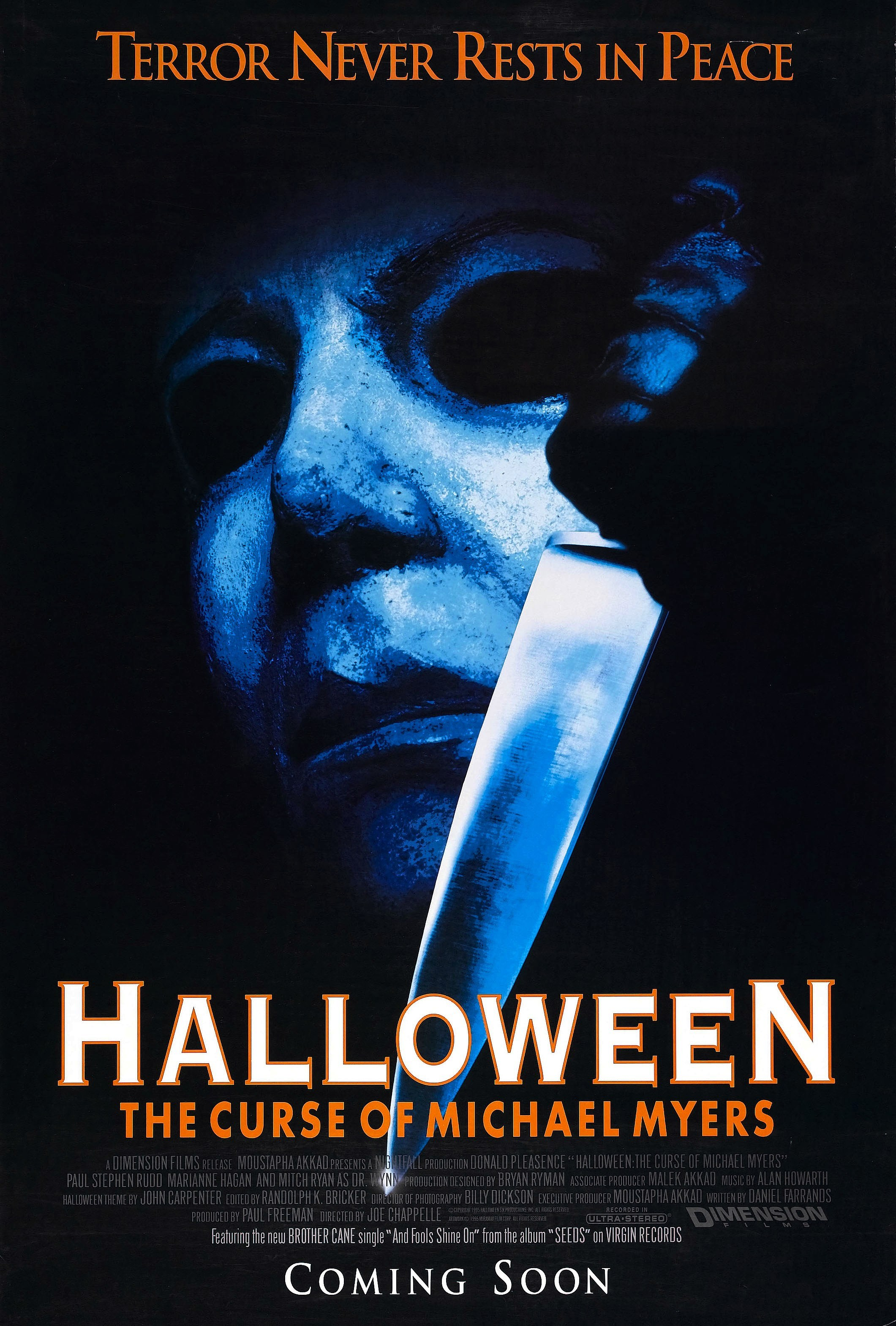 The Curse of Michael Myers poster