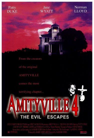 Amityville 4 alternate poster