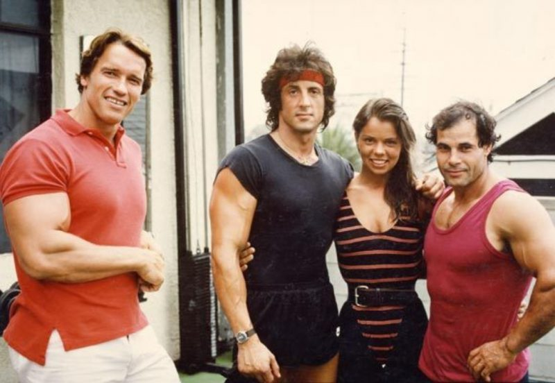 Arnie and Stallone