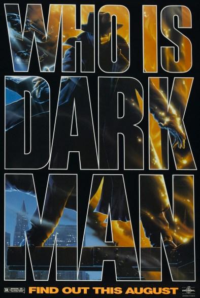Darkman Teaser Poster