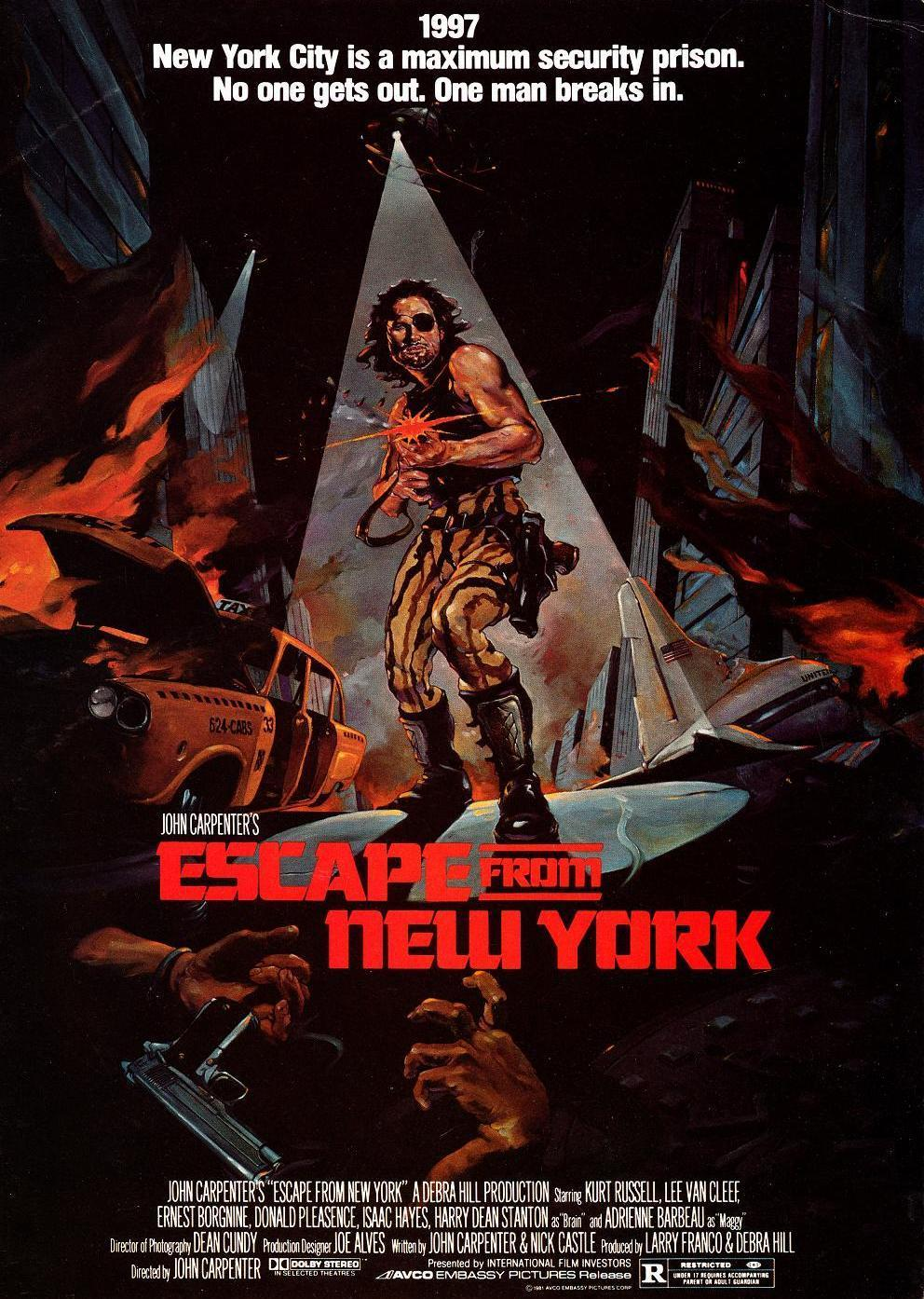 Escape From New York alternate poster 2
