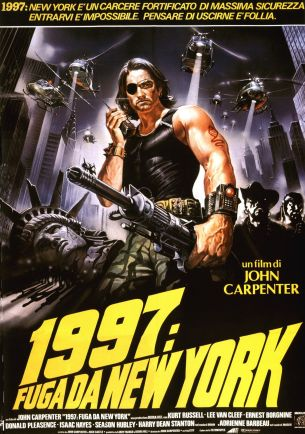 Escape From New York Italian poster