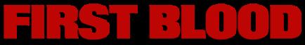 First Blood logo