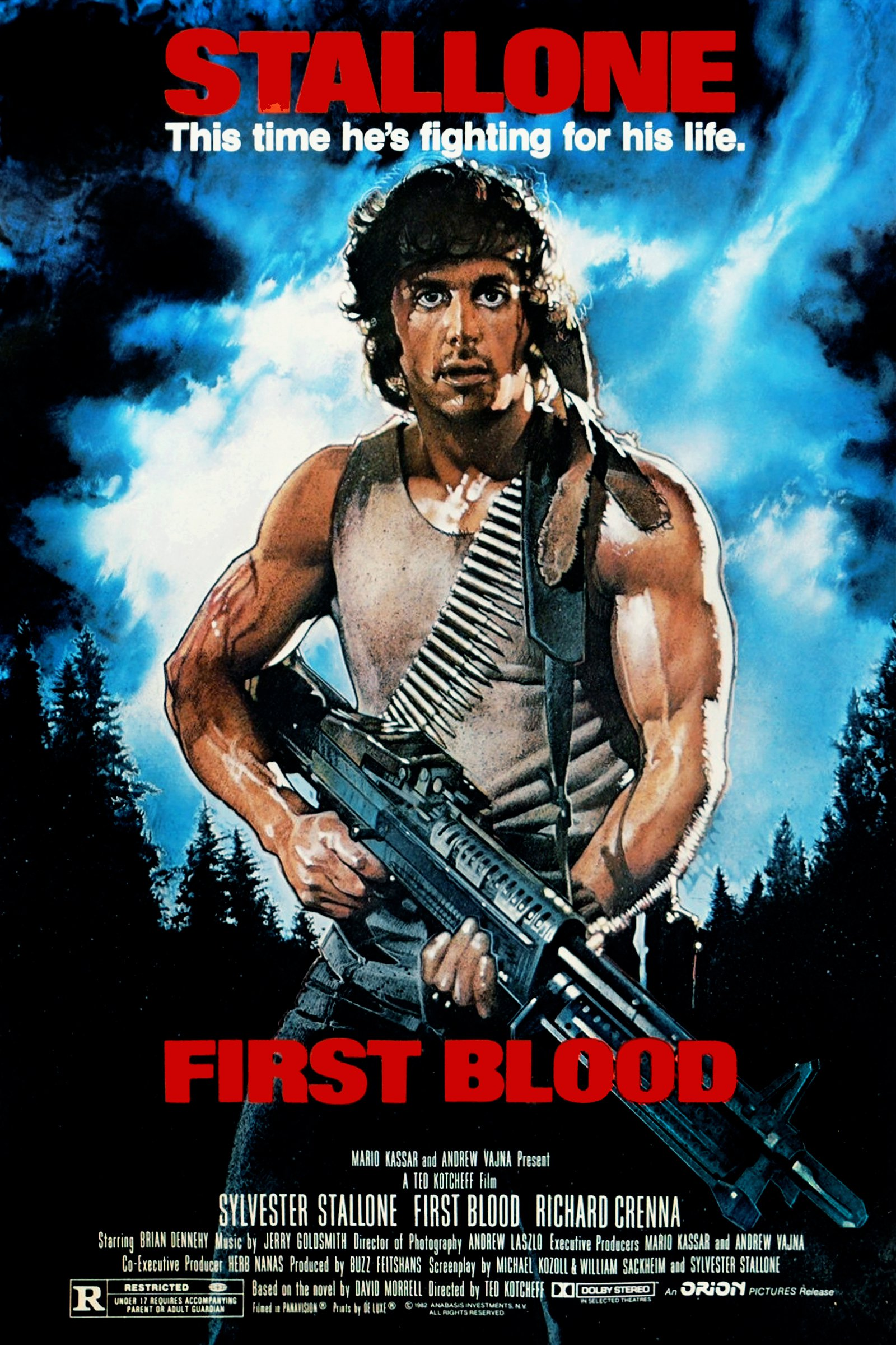 First Blood poster