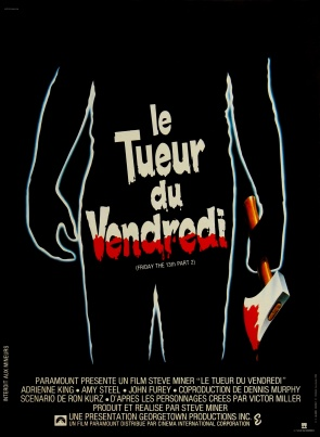Friday the 13th Part II French poster
