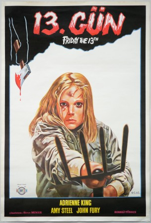 Friday the 13th Part II Turkish poster