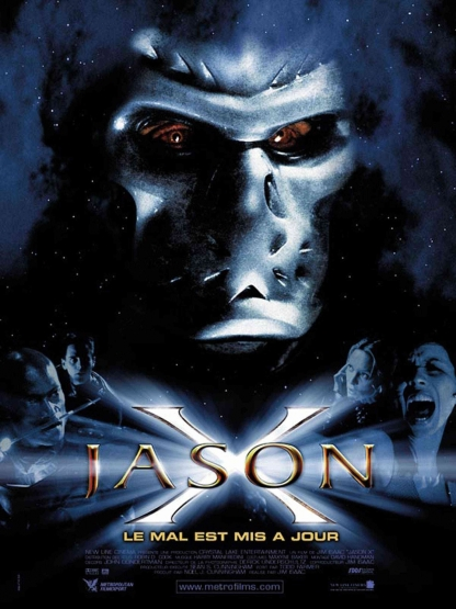Jason X French poster