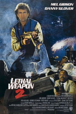 Lethal Weapon 2 alternate poster