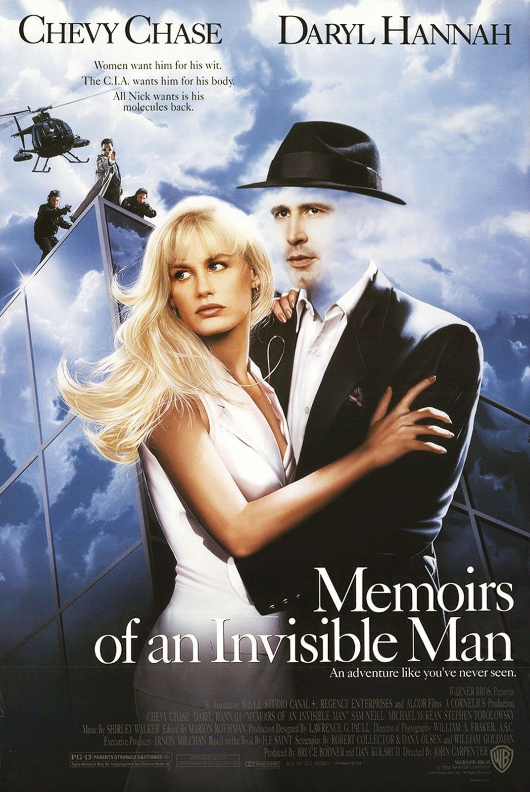Memoirs of an Invisible Man UK Poster