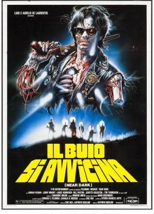Near Dark Italian poster