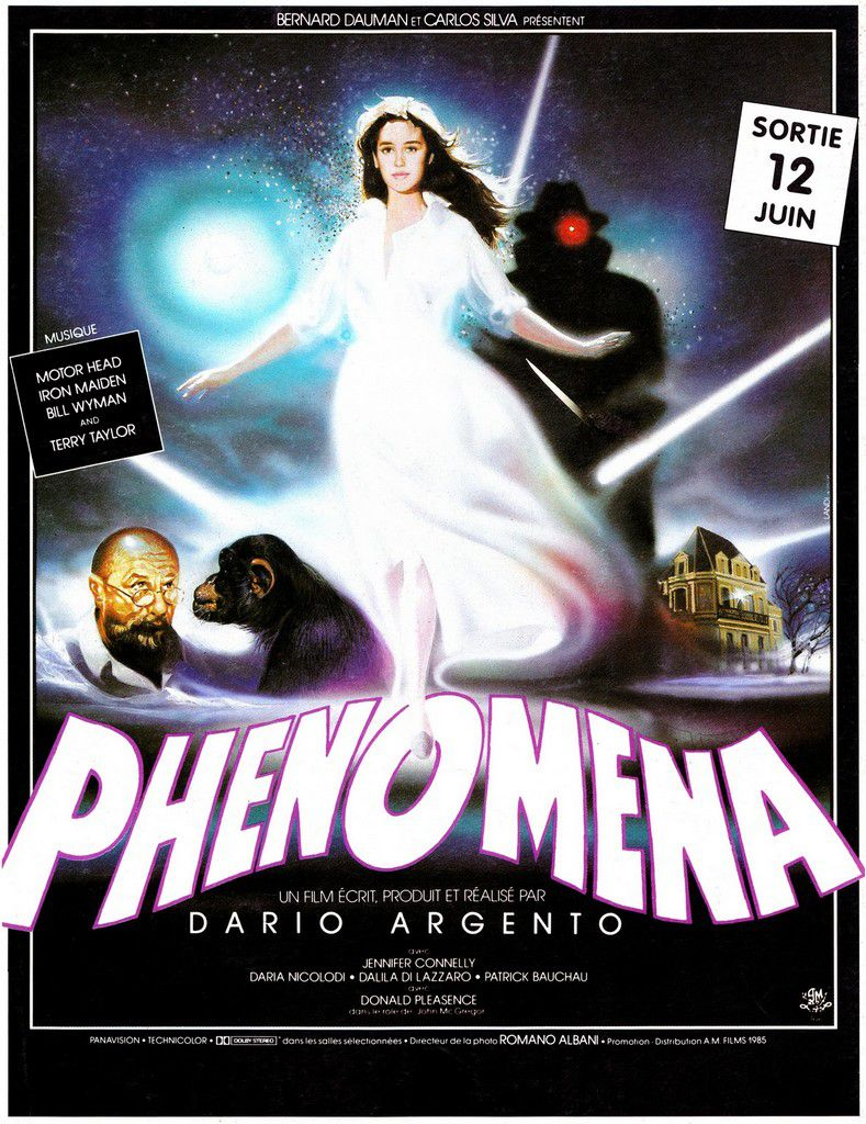 Phenomena French poster