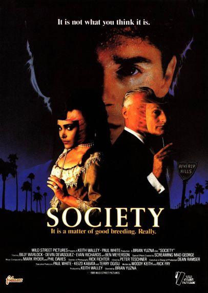 Society alternate poster