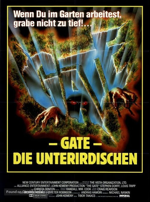 The Gate German Poster