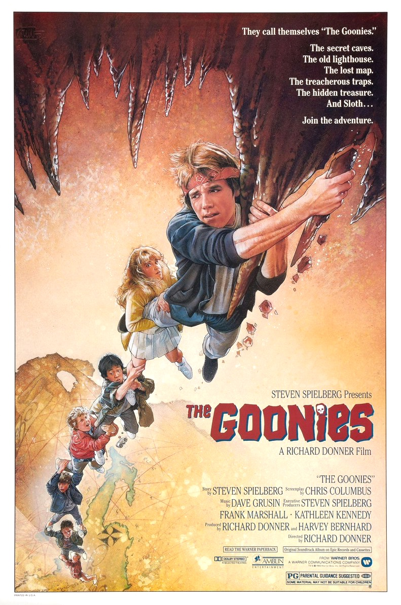 The Goonies US poster