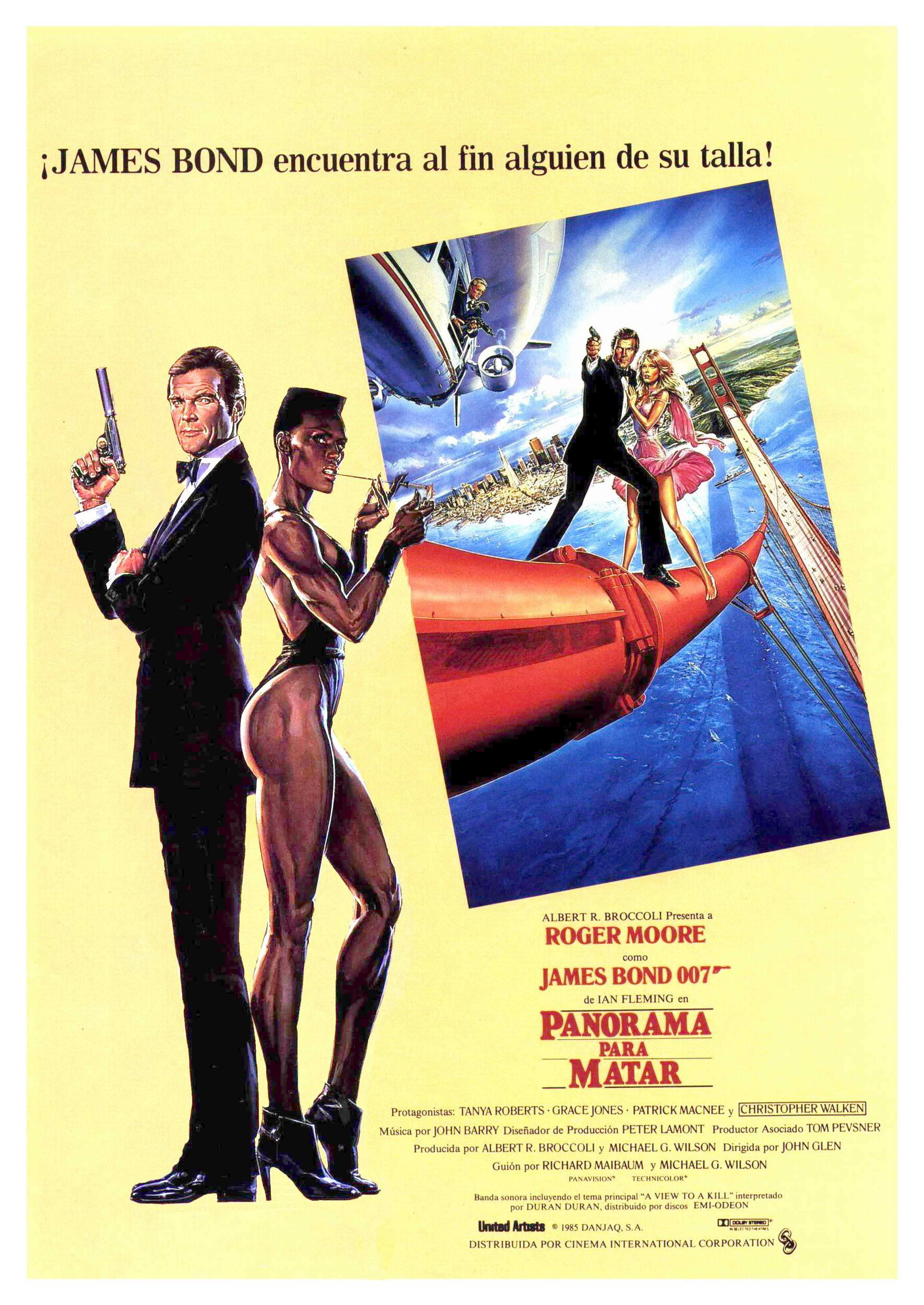 A View to a Kill Spanish poster