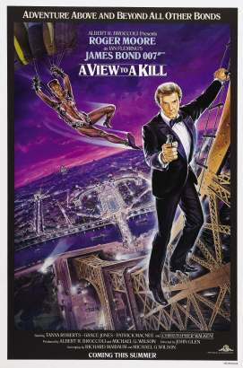A View to a Kill alternate poster