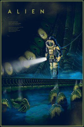 Alien poster Cristian Eres
