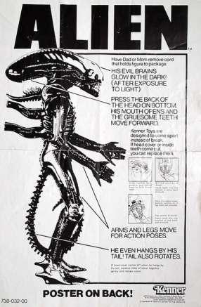 Alien toy ad