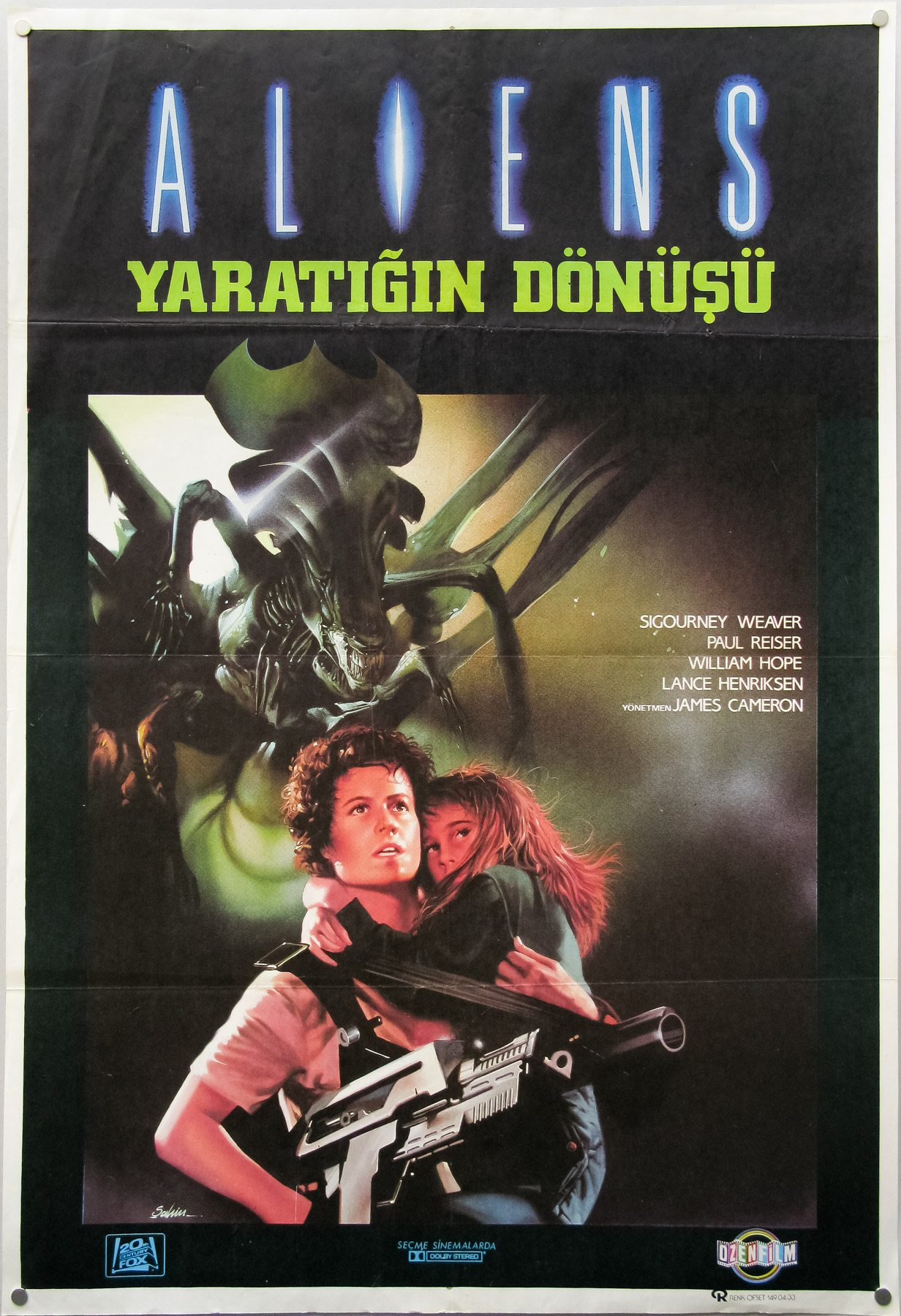 外星人s Turkish poster