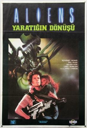 Aliens Turkish poster